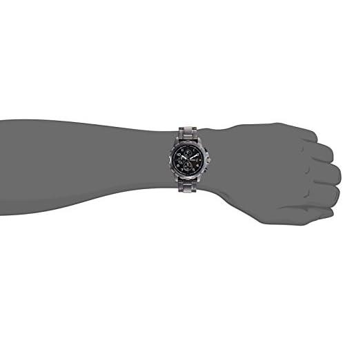 31vyf0LRaTL. SS500  - Fossil Dean Chronograph Black Dial Men's Watch - FS4721