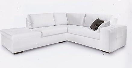 Ponti Divani - LENNY - Offerta divano angolare con pouf Produzione ...