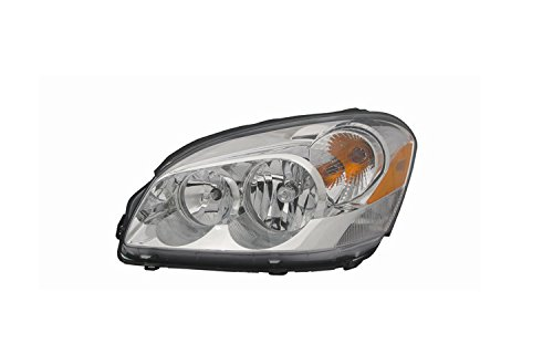 Cornering Lamp Assembly - Depo 336-1117L-ASN Buick Lacerne Driver Side Replacement Headlight Assembly with Cornering Lamp