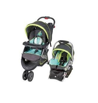 Cheap Baby Trend EZ Ride 5 Travel System, Woodland