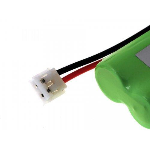 2,4V Batterie pour t/él/éphone sans Fil NiMH Powery Batterie pour GP Type 60AAAH2BMJZR