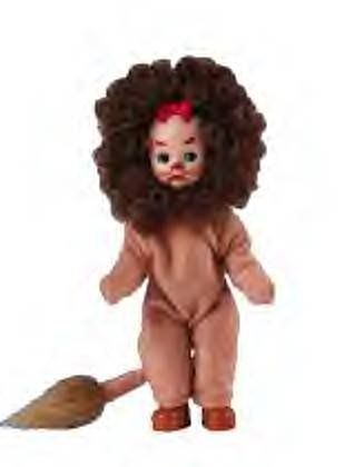 Madame Alexander Mcdonalds Happy Meal Toy Cowardly Lion 2007 - Mcdonalds Madame Alexander
