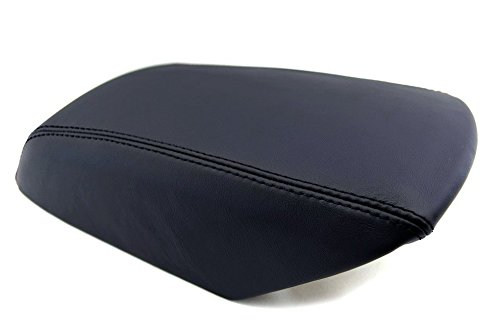 Ford Explorer Center Console Armrest Real Leather Cover Black For 11-17