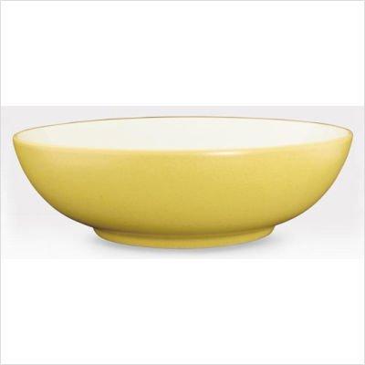Noritake Colorwave Mustard Round Vegetable -