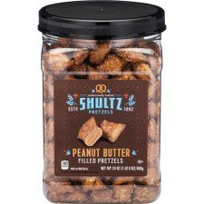 OfficeSnax Shultz PB Pretzel Nuggets, 24 Ounce ()
