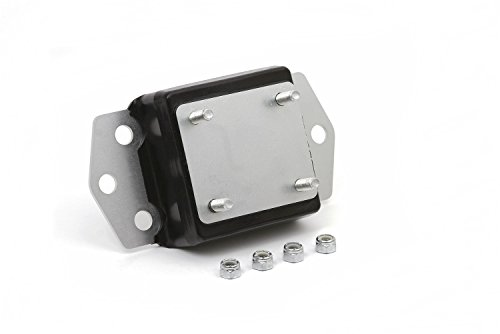 Daystar, Jeep XJ Cherokee Transmission Mount 4.0 Liter, fits 1998 to 2001 2/4WD, KJ01010BK, Made in (Cherokee Manual Transmission)