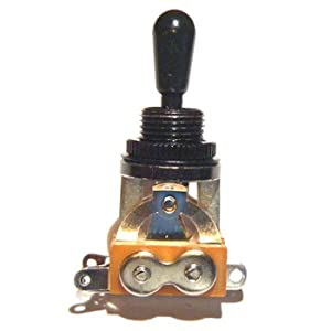 Electric guitar toggle switch 3 way in black (rhythm treble ...