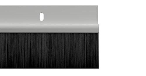 PVC Bottom Door Brush Seal - 838mm/33inches long White