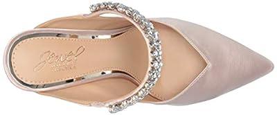 Jewel Badgley Mischka Women's STELLA Shoe, Champagne, 6.5 M US