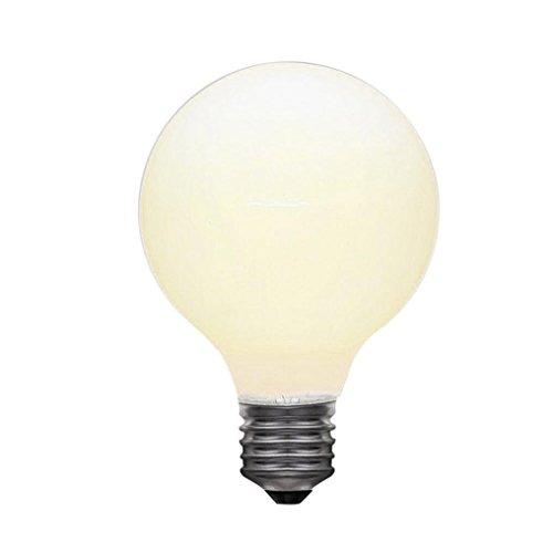 Light Bulb  Iuhan Edison Retro Light Bulb Led E27 5W Milk White Transparent Dragon Bubble  A