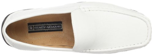 Stacy Adams Mens Mac Slip-on Wit