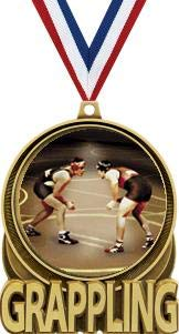 - Grappling Medals, 3