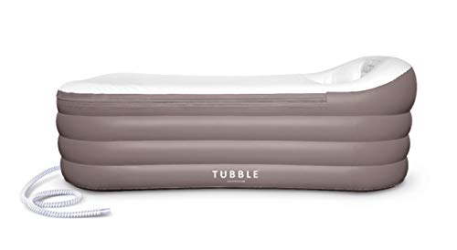 (Inflatable Bathtub, Tubble ® Royale, Adult Size Portable Home Spa tub, Comfortable Bath, Quality Tub - 275 Liter)
