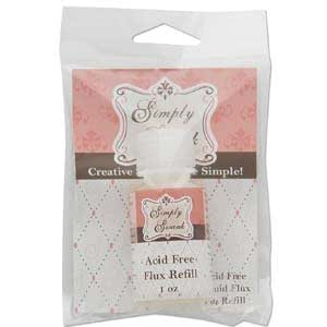 """""""Simply Swank"""" Acid Free Flux For Solder Craft Jewelry - 1 Oz Refill"""