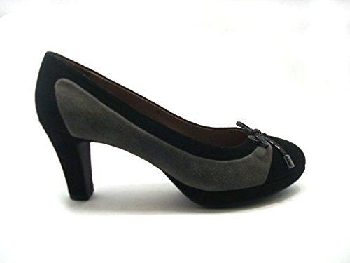 Women's Court Geox nero grigio Shoes d8WxBB5cq