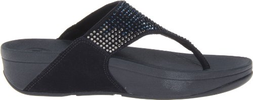 Women's Super fitflop Thong Flare Navy Sandal w0Rnq8dUn