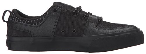 DC - Zapatillas de skateboarding para niño Black/Battleship/Bla