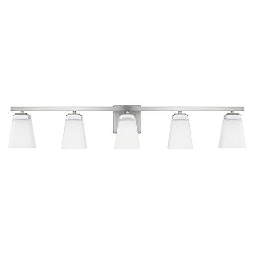 - Capital Lighting 114451BN-334 Five Light Vanity