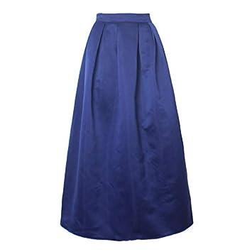 CHZDDQ Falda Corta Falda Larga Mujer 100 Cm Vestido De Fiesta ...
