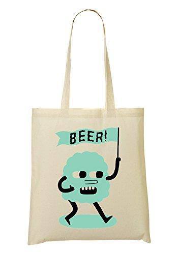 Protesting Cloud Want Some Beer Bolso De Mano Bolsa De La Compra
