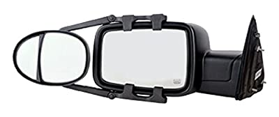 """Fit System (3990) Dual Lens Universal Towing Mirror with Ratchet Mount System, Pair, 5""""x 7"""""""