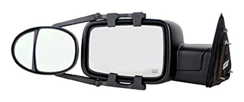 Fit System (3990) Dual Lens Universal Towing Mirror with Ratchet Mount System, Pair, 5