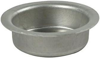 Kela 17600 chauffe-plat rond, métal chromé 'Globul'