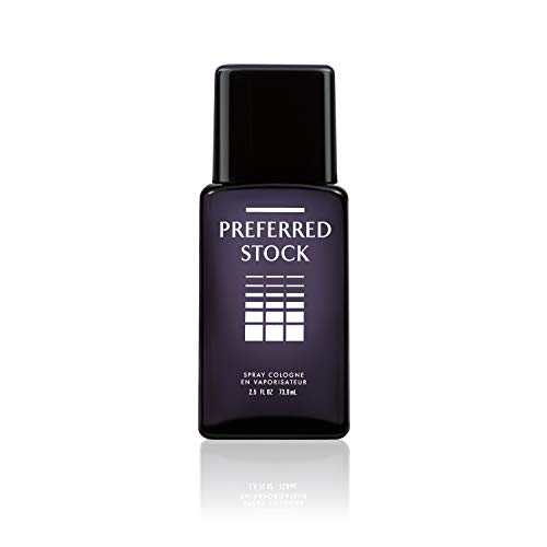 Stetson Preferred Stock Cologne Spray for Men by Stetson 2.5 Fluid Ounce Spray Bottle A Sophisticated Blend of Sandalwood, Vetiver & Citrus Coty Men Cologne Spray