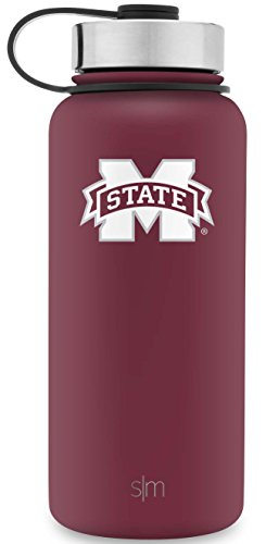 Simple Modern Summit Waterbottle Mississippi State