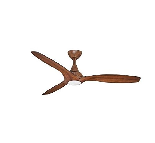Tidal Breeze 56 in. Indoor LED Distressed Koa Ceiling Fan