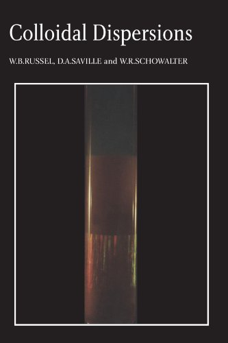 Colloidal Dispersions (Cambridge Monographs on Mechanics)