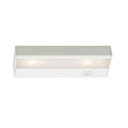 - WAC Lighting BA-LED2-WT LED Light Bar, 6-Inch - 2-Inch  by 1W 2900K