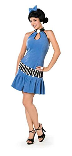 UHC The Flintstones Betty Teen Girl's Fancy Dress Halloween Costume, Teen XS (4-6)