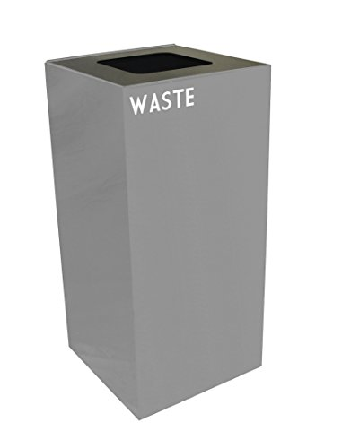 Public Recycling Container Square Steel - 1