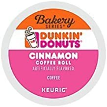 Dunkin' Donuts Cinnamon Coffee Roll Coffee K-Cup Pods (16 Count)