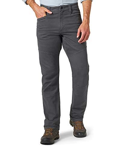 ATG by Wrangler Men's Reinforced Utility Pant, Gray, 36W x 30L