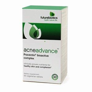 Futurebiotics Acneadvance, Praventin Bioactive Complex Vegetarian Tablets 90 ea