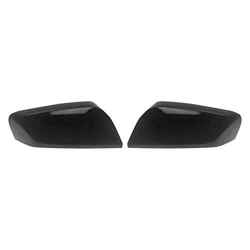(Trim Illusion Chrome Accessories Fits 13-19 Chevy Impala - Gloss Black Mirror Covers - MC6251B)