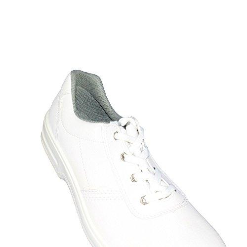 Aimont Grass S2 Sicherheitsschuhe Arbeitsschuhe Trekkingschuhe flach Weiß B-Ware Weiß