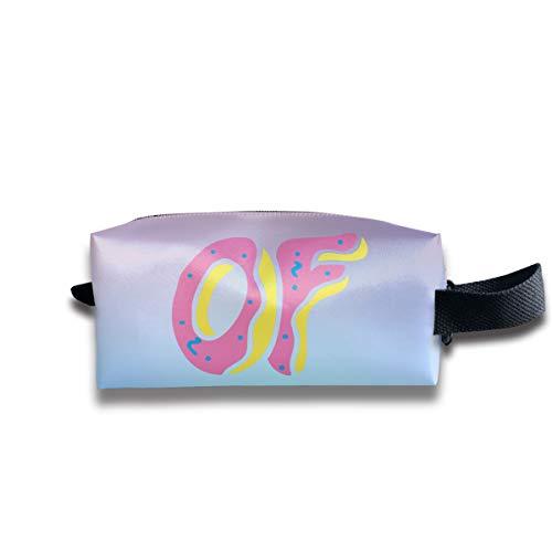 Aiello Portable Storage Bag Handbag of O-dd Future Makeup Bag Case Organizer with Zipper Wallet Bag