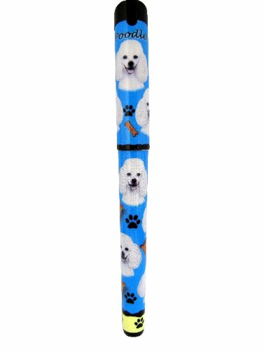 Poodle Pen Easy Glide Gel Pen, Refillable With A Perfect Grip, Great For Everyday Use, Perfect Poodle Gifts For Any Occasion (Poodle Pen)