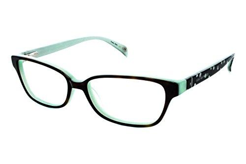 Lulu Guinness Women's Optical Eyeglasses L865 Tort/Mint Size - Glasses Lulu