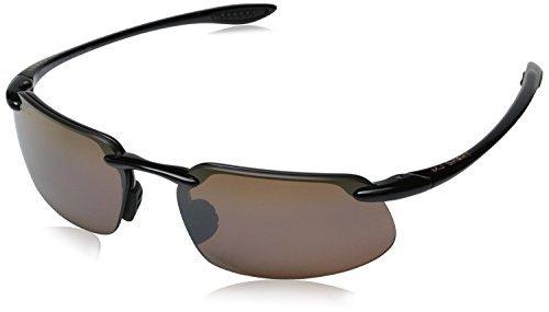 Maui Jim Kanaha Sunglasses - COLOR: H409-02 Gloss Black/HCL Bronze - Maui Jim Kanaha