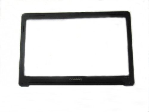 HP 534995-001 LCD bezel assembly - For 15.6-inch LCD display panel - For model without web camera