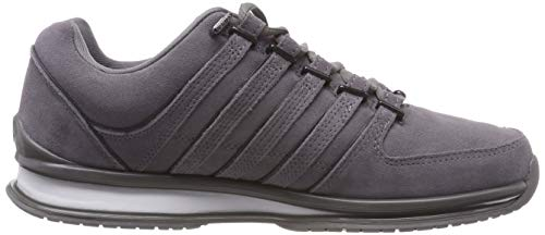 swiss Sp white charcoal Bas 088 Rinzler Sde black Gris Chaussons Homme K BqgdFB