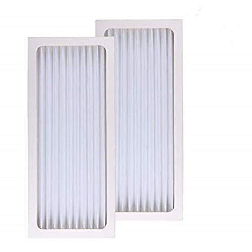 Price comparison product image Aqua Green Hamilton Beach True Air 04383 04384 04385 990051000 Comparable Air Purifier Filter 2-Pack