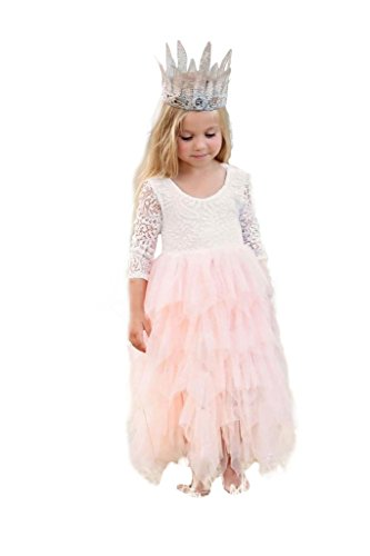 embroidered tulle lace dresses - 2