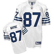 Reebok Indianapolis Colts Reggie Wayne Replica Alternate Jersey Small