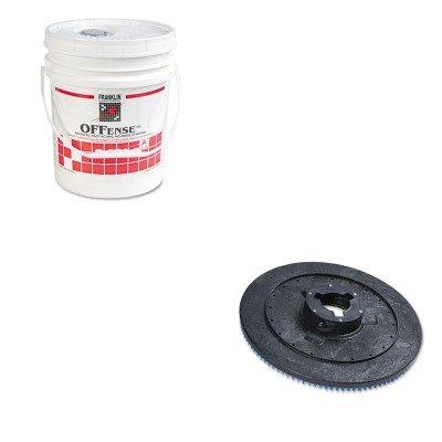 Franklin Offense Floor Stripper - KITBWKPPP20FKLF218026 - Value Kit - Boardwalk Plastic Pad Holder/Drive Block (BWKPPP20) and Franklin OFFense Floor Stripper (FKLF218026)