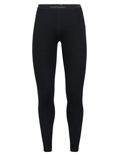 - Icebreaker Merino Women's 260 Tech Leggings, Black, Medium